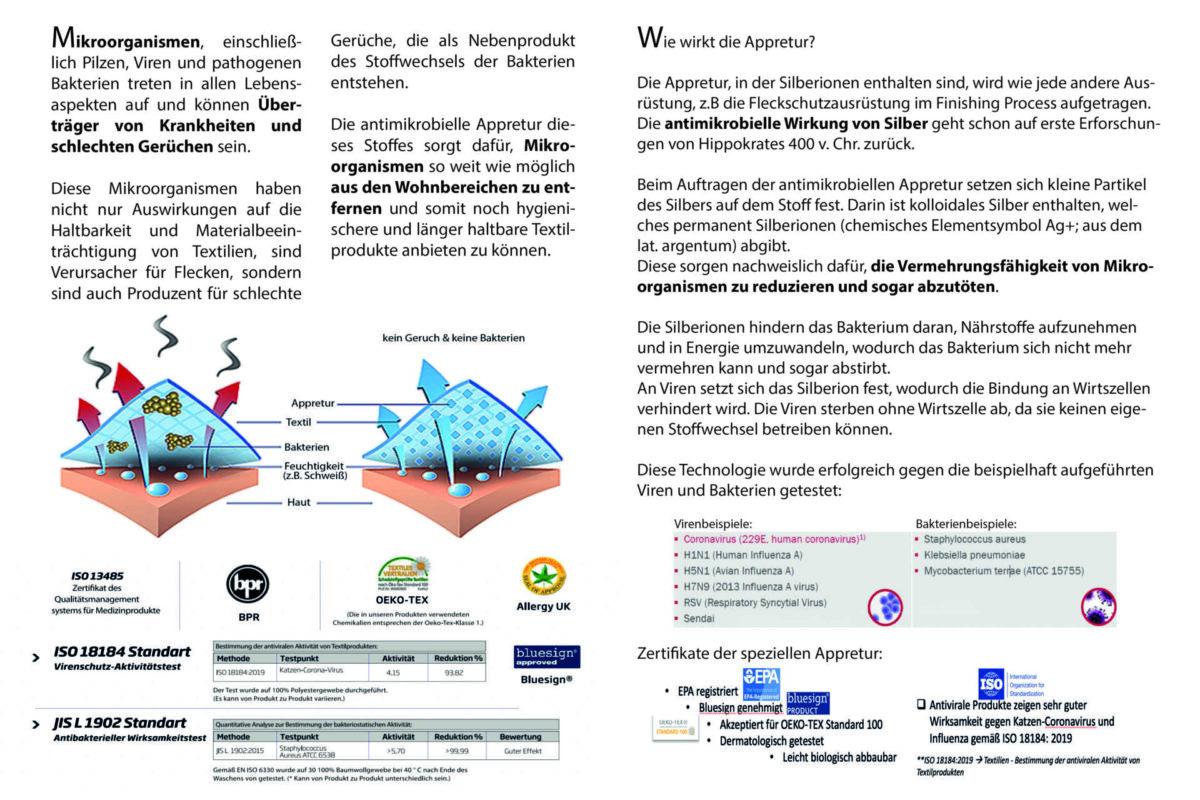 Flyer-Antimikrobiell